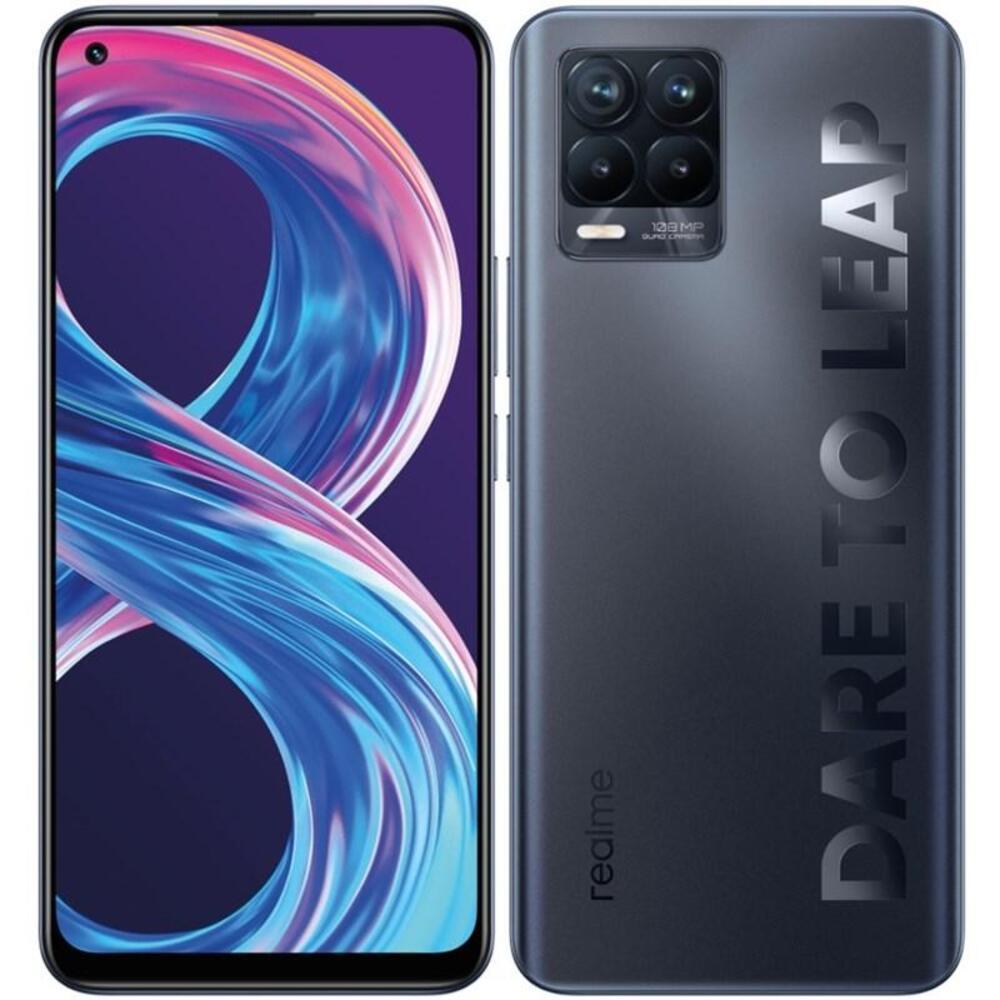 Smartphone Realme 8 Pro 8GB Ram Tela 6.4 128GB Camera Quádrupla 108+8+2+2MP - Preto