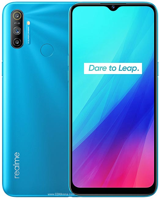 Smartphone Realme C3 3GB Ram Tela 6.50 64GB Camera Tripla 12+2+2MP - Azul