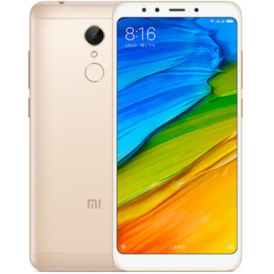 Smartphone Xiaomi Redmi 5 2GB Ram Tela 5.7 16GB Camera 12MP - Dourado