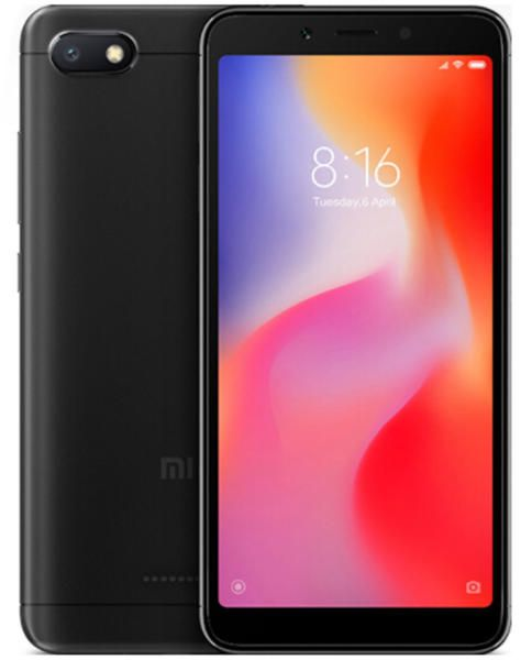 Smartphone Redmi 6 4GB Ram Tela 5.45 64GB Camera Dupla 12+5MP - Preto