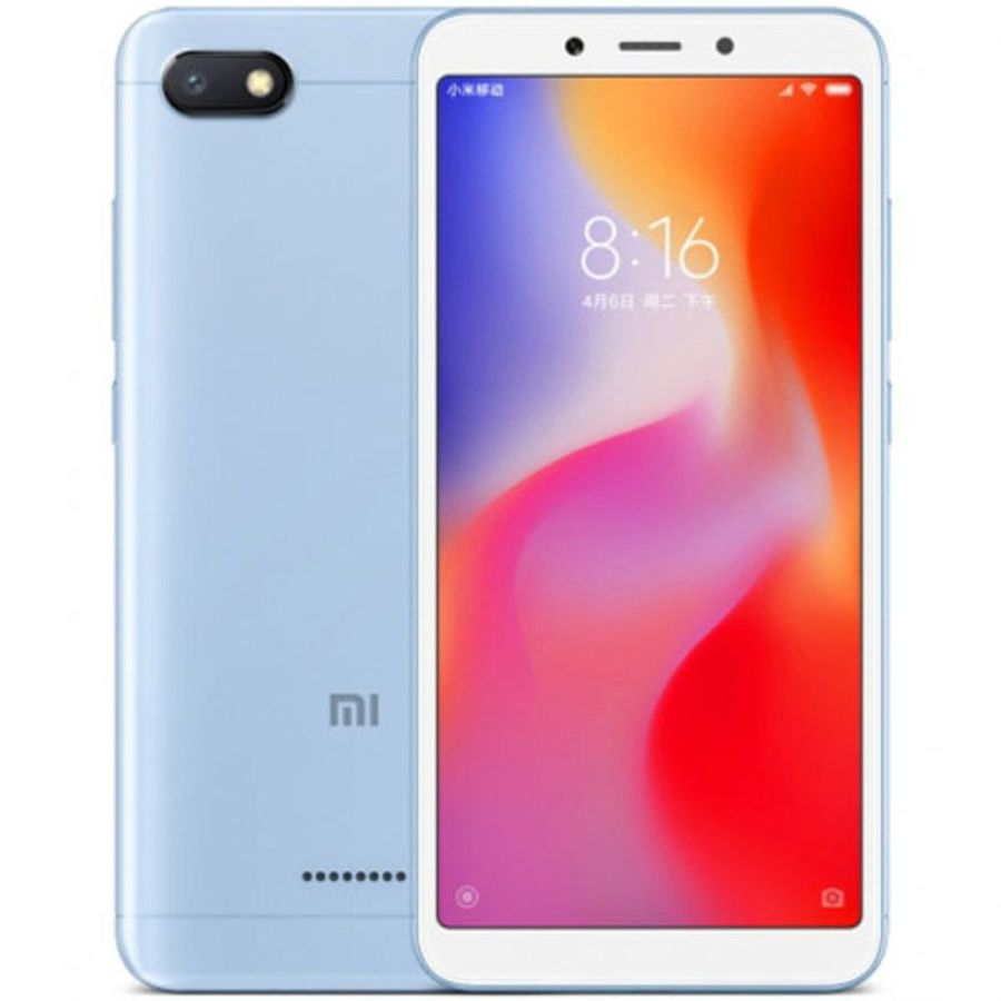 Smartphone Xiaomi Redmi 6A 2GB Ram Tela 5.45 16GB Camera 13MP - Azul