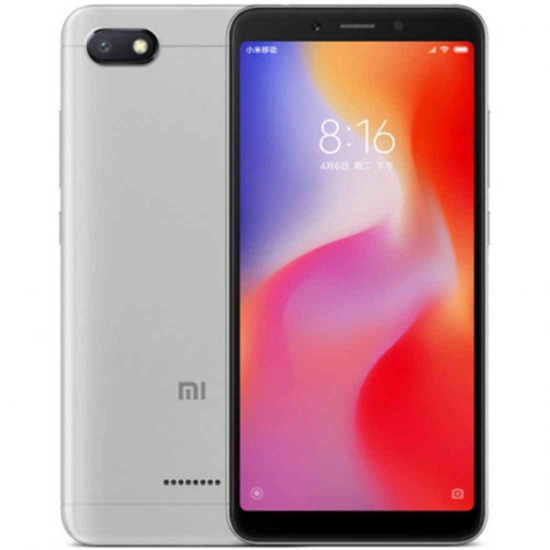 Smartphone Redmi 6A 2GB Ram Tela 5.45 16GB Camera 13MP - Prata