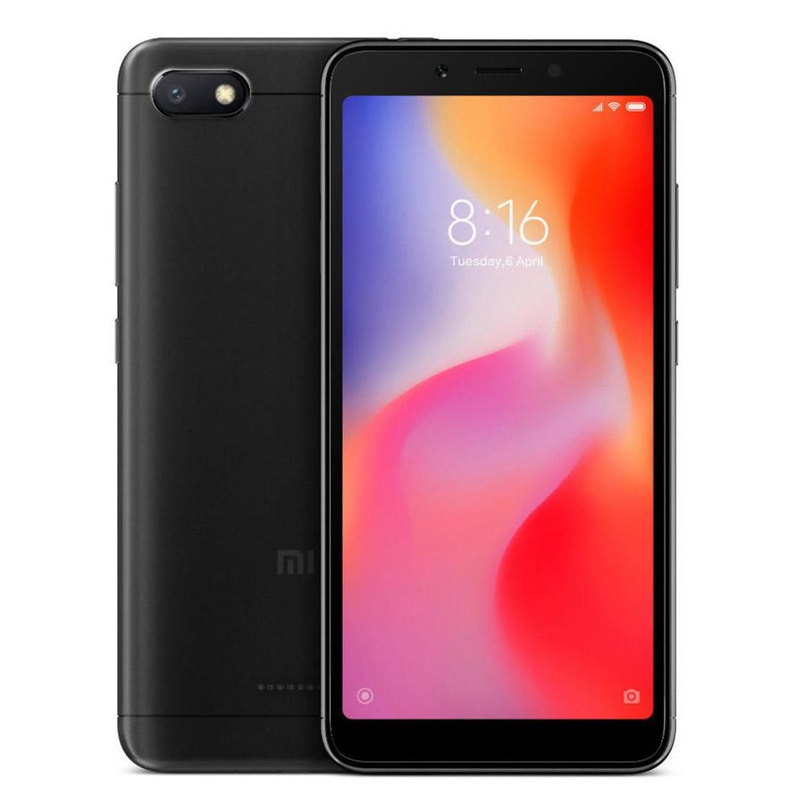 Smartphone Xiaomi Redmi 6A 2GB Ram Tela 5.45 16GB Camera 13MP - Preto