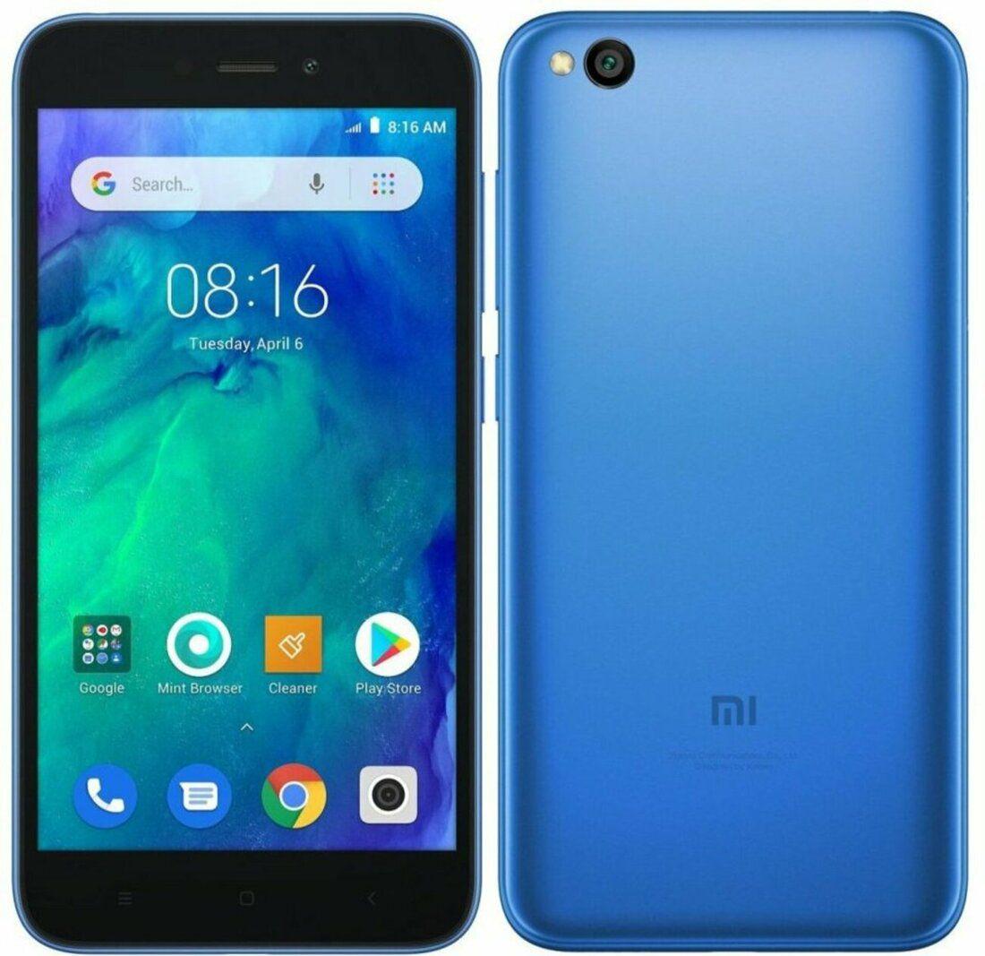 Smartphone Xiaomi Redmi GO 1GB Ram Tela 5.0 8GB Camera 8MP - Azul