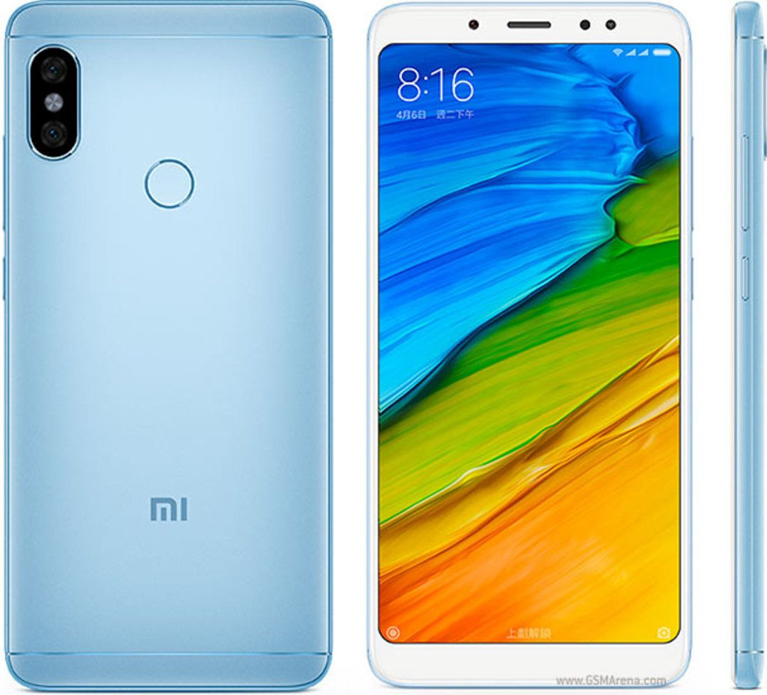 Smartphone Redmi Note 5 4GB Ram Tela 5.99 64GB Camera dupla 12+5MP - Azul