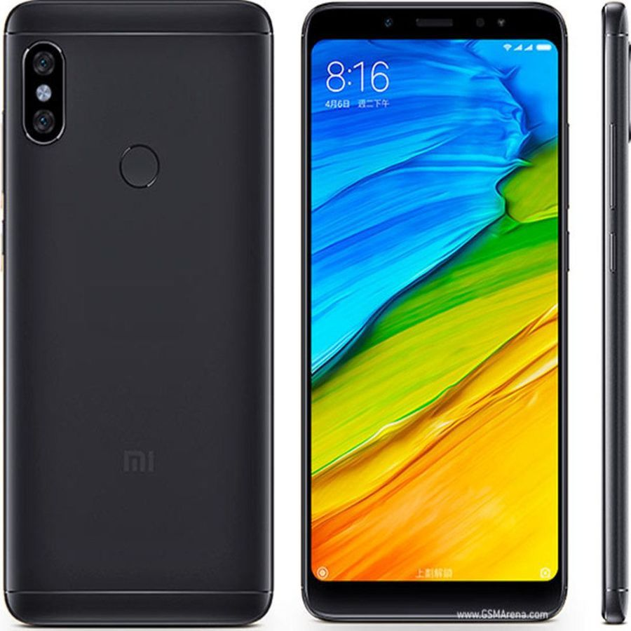 Smartphone Xiaomi Redmi Note 5 4GB Ram Tela 5.99 64GB Camera dupla 12+5MP - Preto