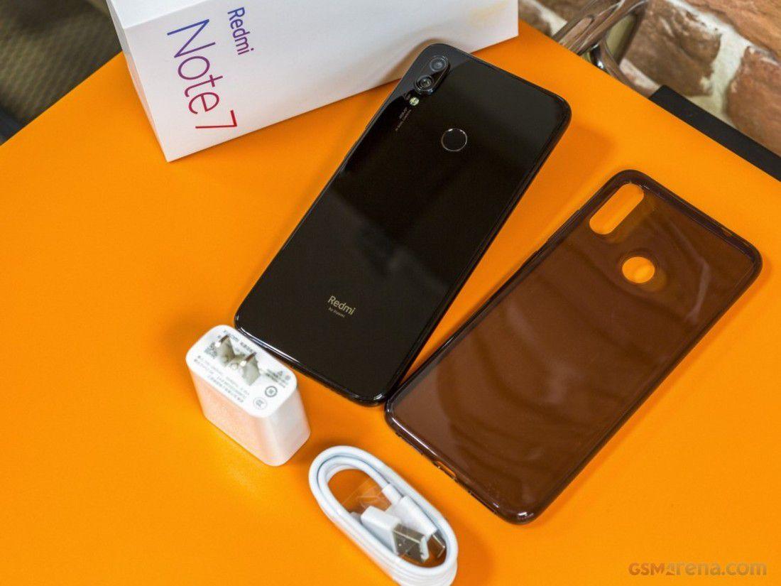 Smartphone Xiaomi Redmi Note 7 4GB Ram Tela 6.3 64GB Camera Dupla 48+5MP Preto  - PAGDEPOIS