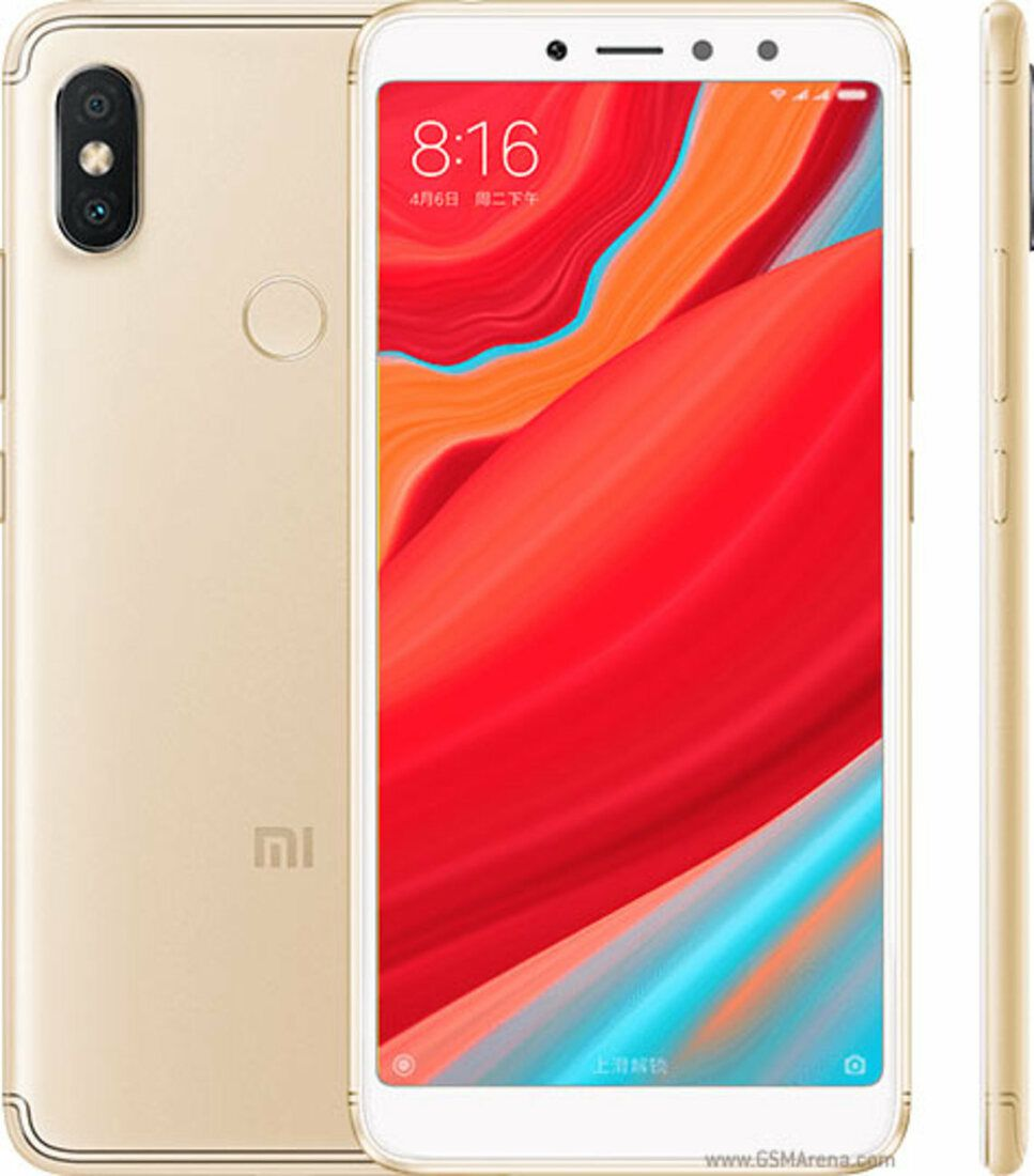Smartphone Redmi S2 4GB Ram Tela 5.99 64GB Camera dupla 12+5MP - Dourado