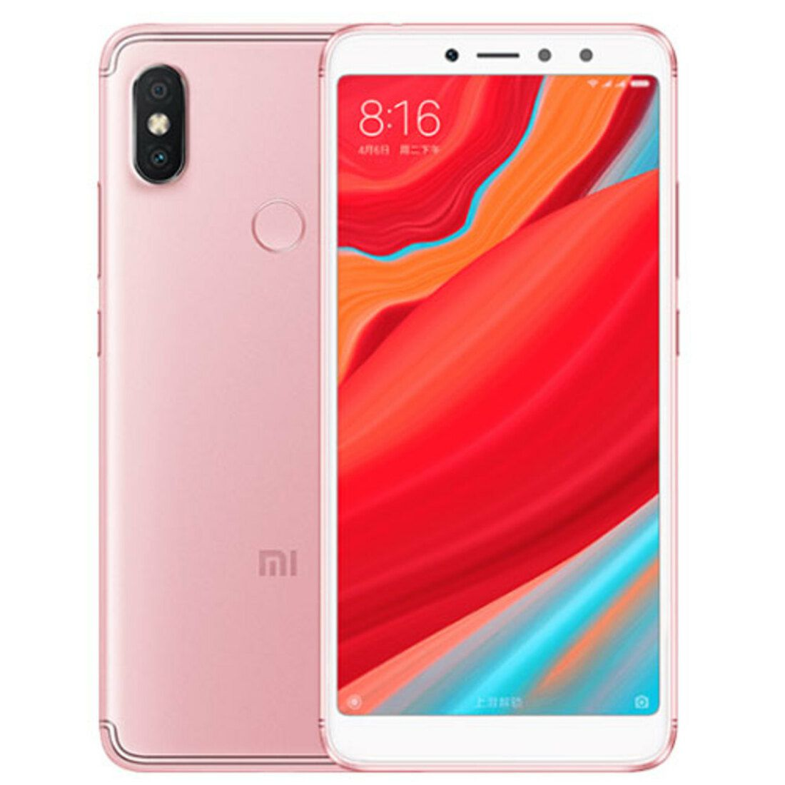 Smartphone Redmi S2 4GB Ram Tela 5.99 64GB Camera dupla 12+5MP - Rose
