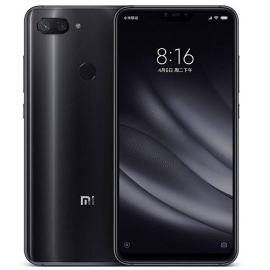 Smartphone Xiaomi Mi 8 Lite 4GB Ram Tela 6.26 128GB Camera Dupla 12+5MP - Preto