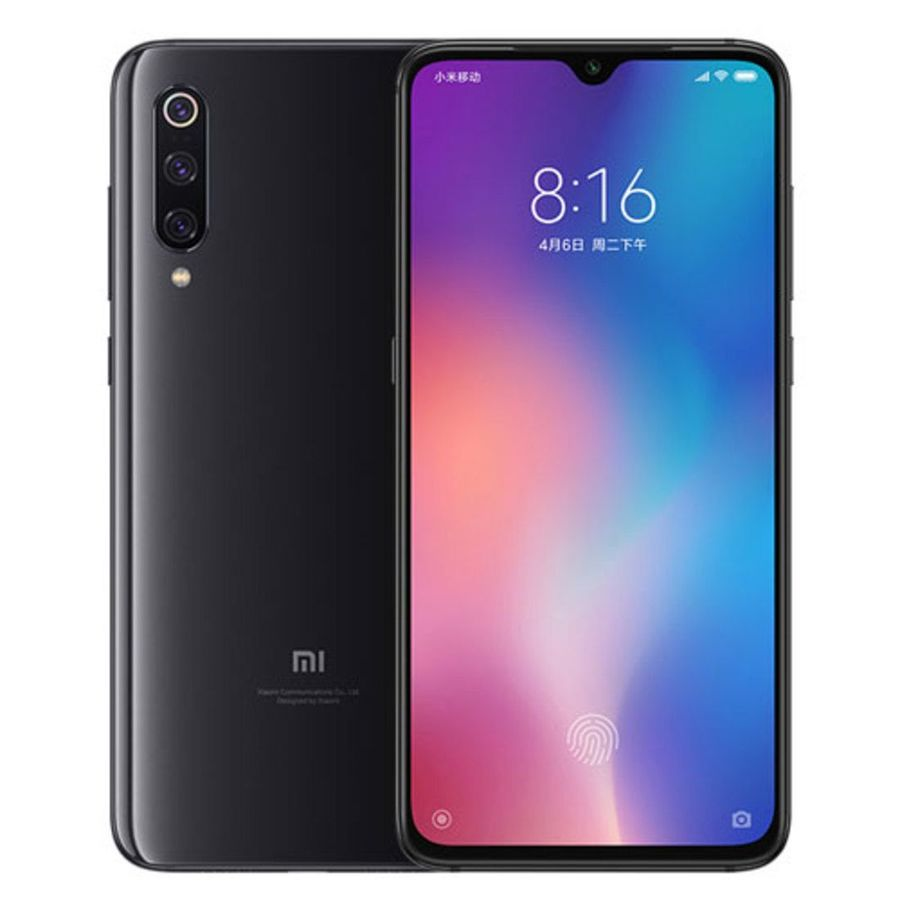 Smartphone Xiaomi Mi 9 6GB Ram Tela 6.39 128GB Camera Tripla 48+16+12MP - Preto
