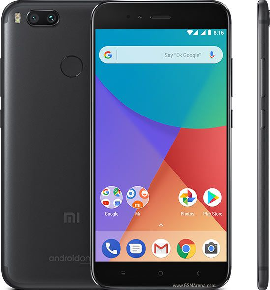 Smartphone Xiaomi Mi A1 4GB Ram Tela 5.5 64GB Camera Dupla 12+12MP - Preto