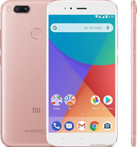 Smartphone Xiaomi Mi A1 4GB Ram Tela 5.5 64GB Camera Dupla 12+12MP - Rose  - PAGDEPOIS