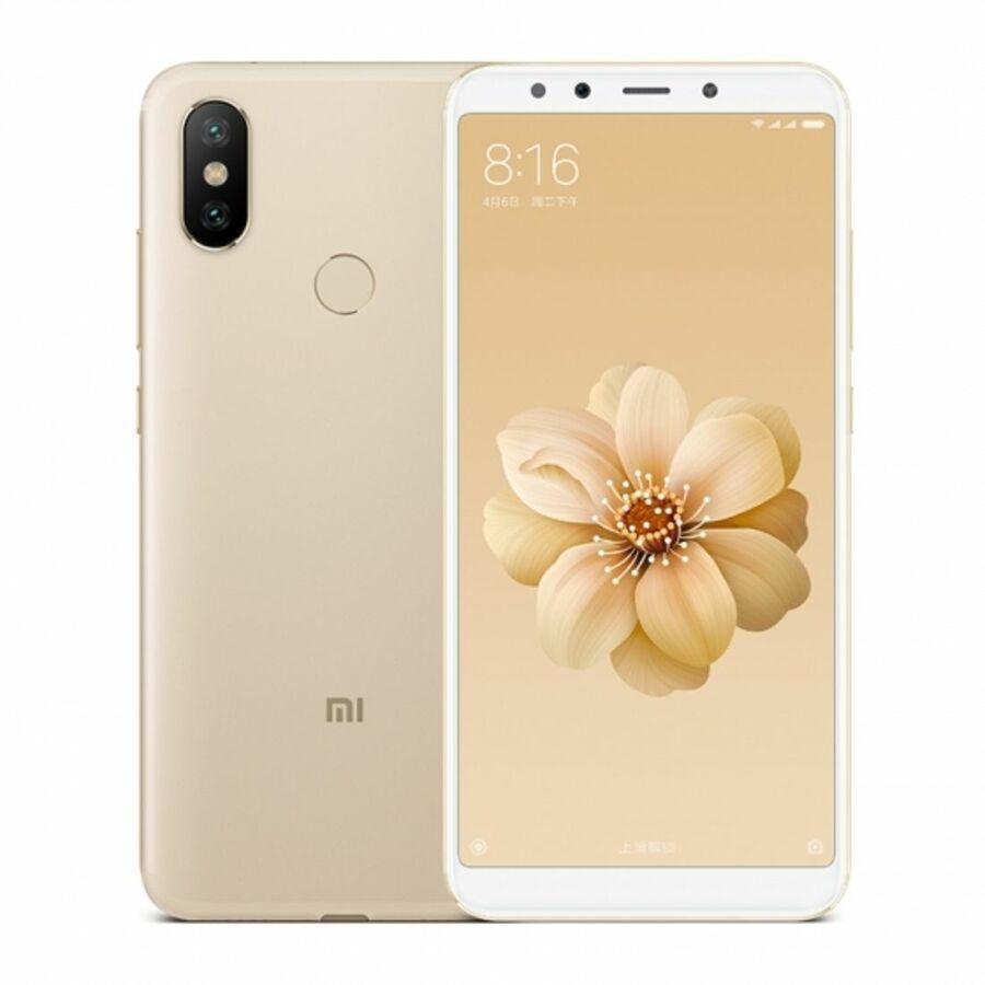 Smartphone Xiaomi Mi A2 4GB Ram Tela 5.99 64GB Camera Dupla 12+20MP - Dourado