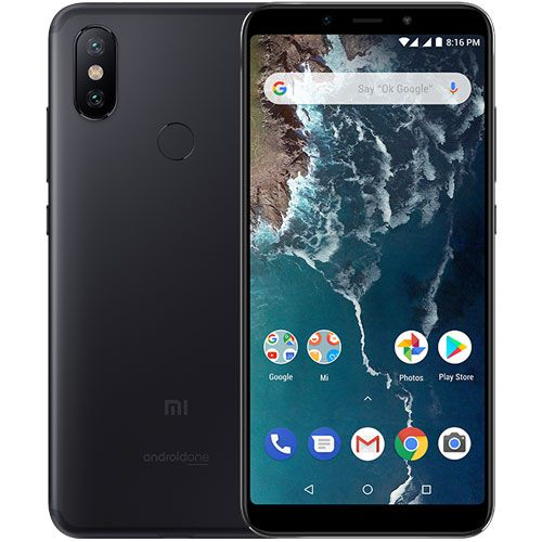 Smartphone Xiaomi Mi A2 4GB Ram Tela 5.99 64GB Camera Dupla 12+20MP - Preto
