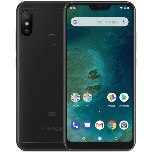 Smartphone Xiaomi Mi A2 Lite 3GB Ram Tela 5.84 32GB Camera Dupla 12+5MP - Preto