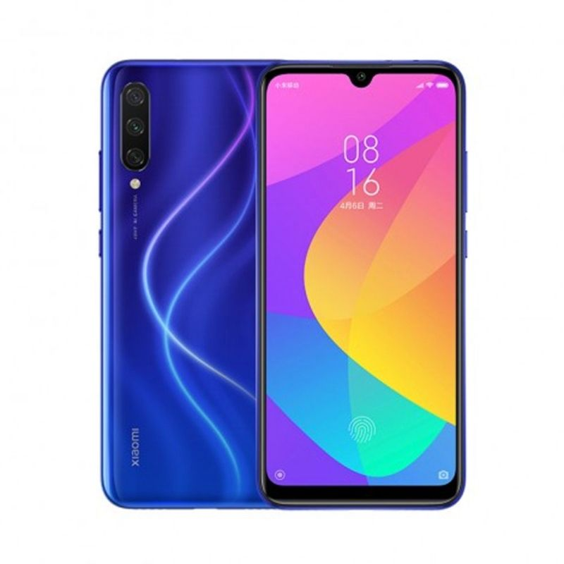 Smartphone Xiaomi Mi A3 4GB Ram Tela 6.08 128GB Camera Tripla 48+8+2MP - Azul