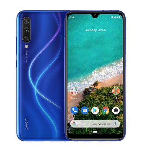 Smartphone Xiaomi Mi A3 4GB Ram Tela 6.08 64GB Camera Tripla 48+8+2MP - Azul  - PAGDEPOIS