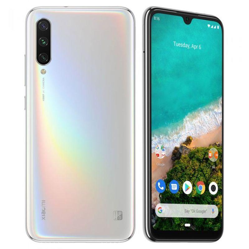 Smartphone Xiaomi Mi A3 4GB Ram Tela 6.08 64GB Camera Tripla 48+8+2MP - Branco  - PAGDEPOIS