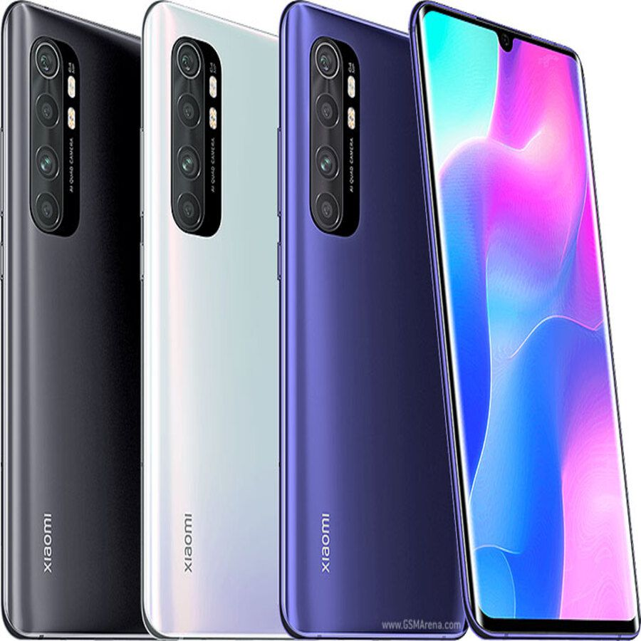 Smartphone Xiaomi Mi Note 10 lite 6GB Ram Tela 6.47 128GB Camera Quad 64+8+2+5MP - Branco  - PAGDEPOIS