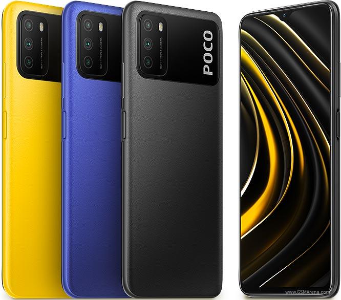 Smartphone Xiaomi Poco M3 4GB Ram Tela 6.53 128GB Camera Tripla 48+2+2MP - Preto