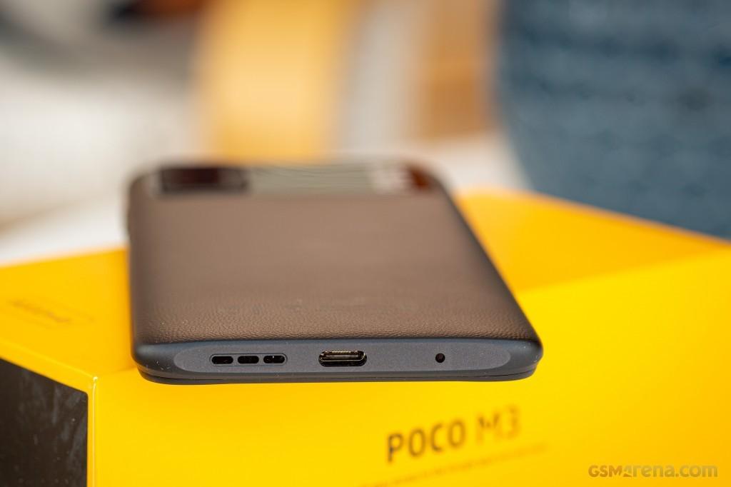 Smartphone Xiaomi Poco M3 4GB Ram Tela 6.53 128GB Camera Tripla 48+2+2MP - Preto  - PAGDEPOIS