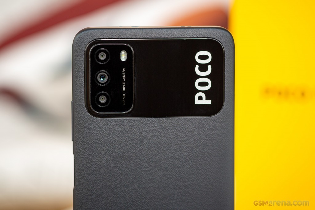 Smartphone Xiaomi Poco M3 4GB Ram Tela 6.53 64GB Camera Tripla 48+2+2MP - Azul  - PAGDEPOIS