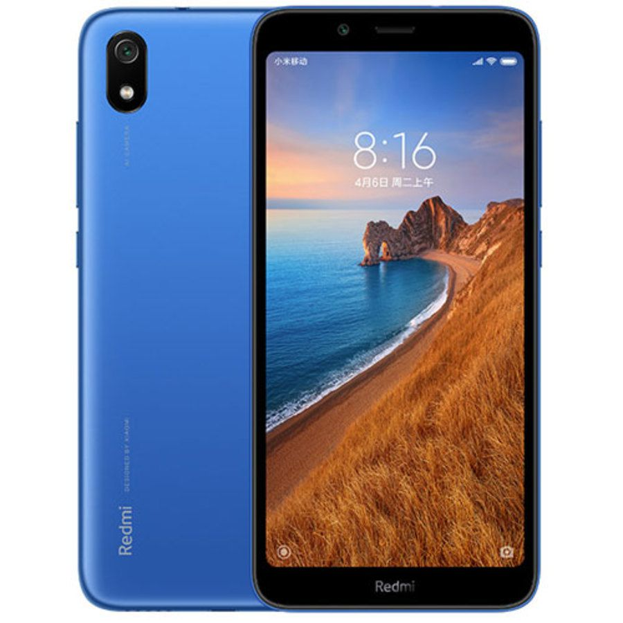 Smartphone Xiaomi Redmi 7A 2GB Ram Tela 5.45 16GB Camera 12MP - Azul