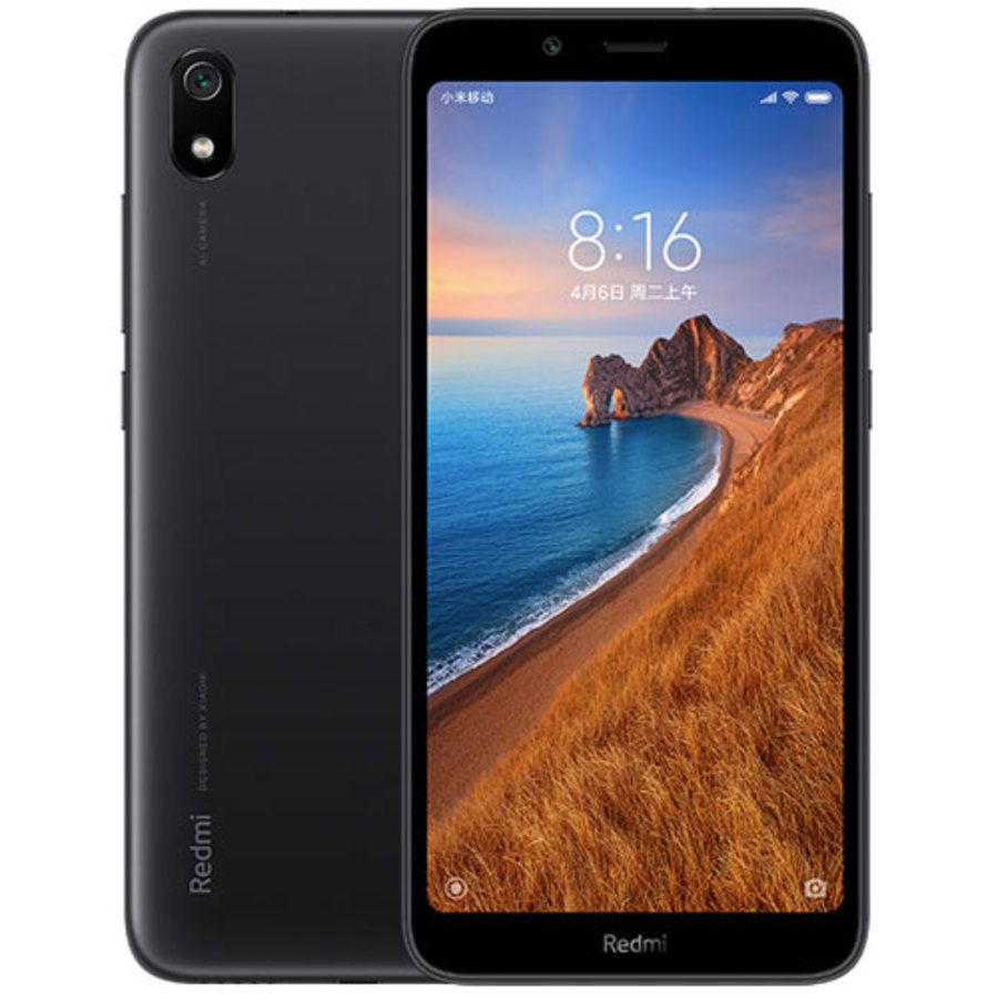 Smartphone Xiaomi Redmi 7A 2GB Ram Tela 5.45 16GB Camera 12MP - Preto