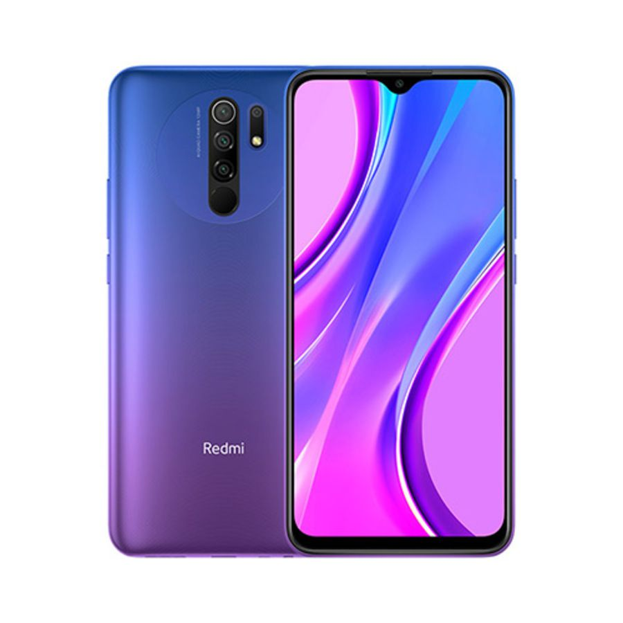 Smartphone Xiaomi Redmi 9 4GB Ram Tela 6.53 64GB Camera Quad 13+8+5+2MP - Roxo