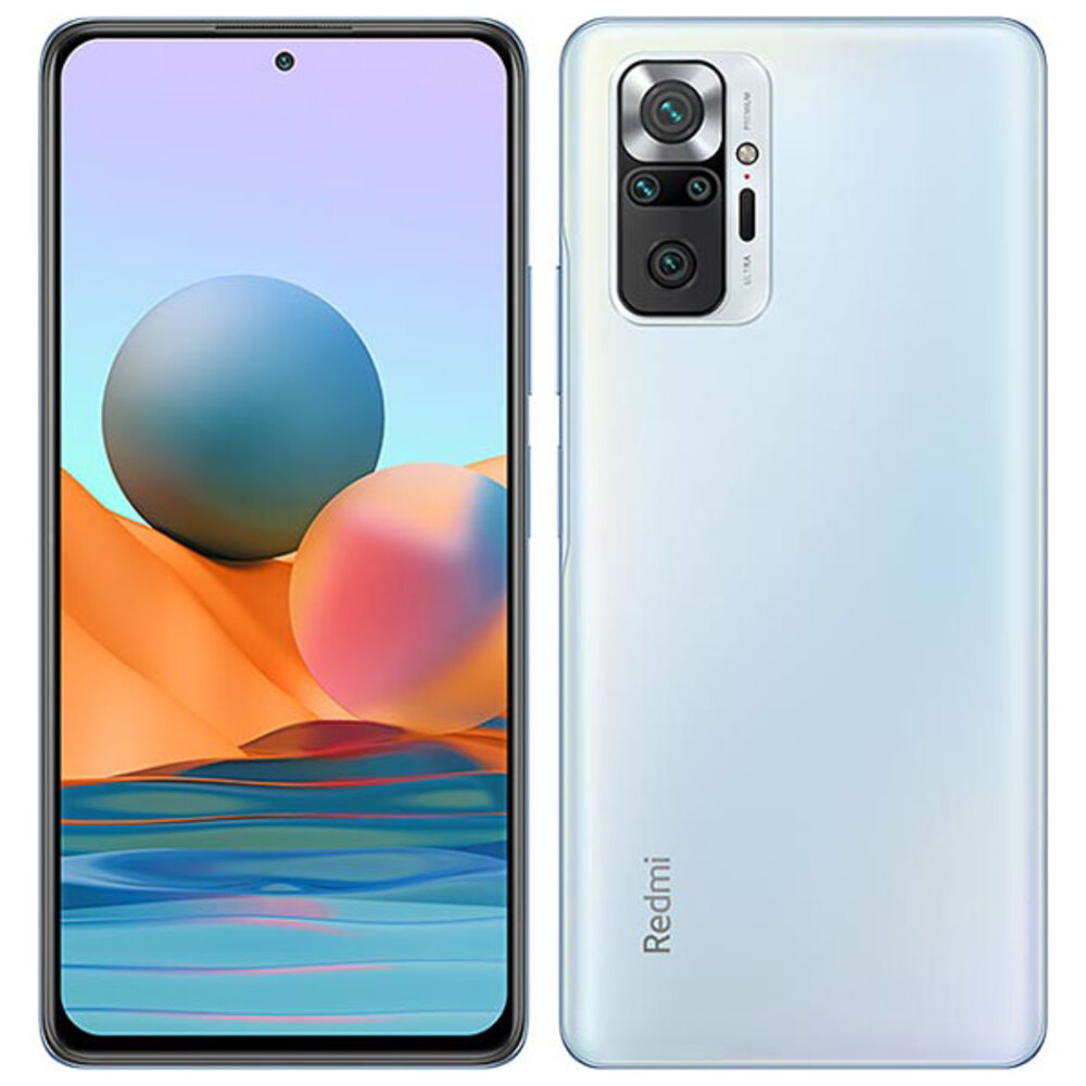 Smartphone Xiaomi Redmi Note 10 4GB Ram Tela 6.43 64GB Camera Quádrupla 48+8+2+2MP - Branco  - PAGDEPOIS