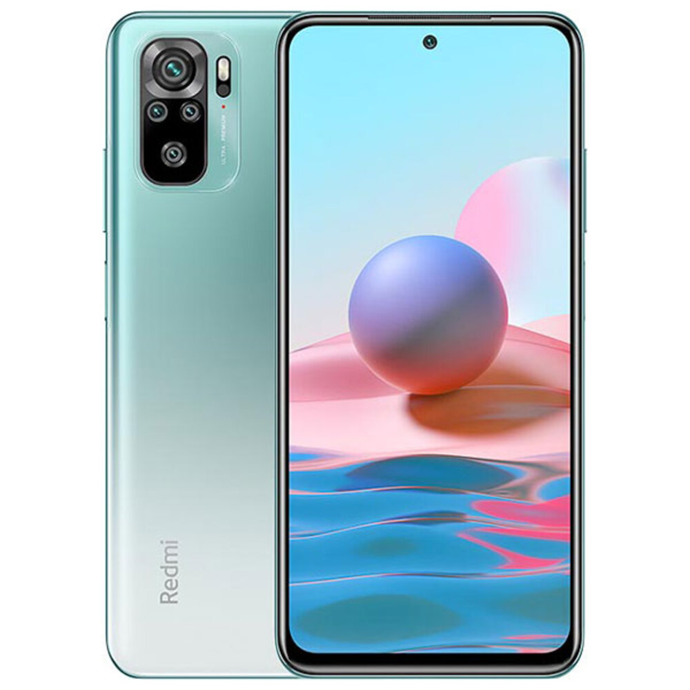 Smartphone Xiaomi Redmi Note 10 4GB Ram Tela 6.43 64GB Camera Quádrupla 48+8+2+2MP - Verde