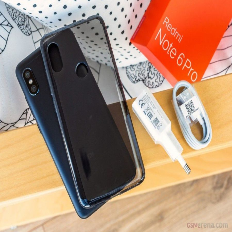 Smartphone Xiaomi Redmi Note 6 Pro 3GB Ram Tela 6.26 32GB Camera dupla 12+5MP - Azul  - PAGDEPOIS