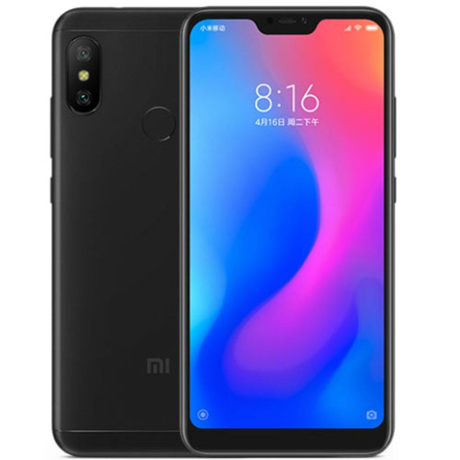 Smartphone Xiaomi Redmi Note 6 Pro 4GB Ram Tela 6.26 64GB Camera dupla 12+5MP - Preto