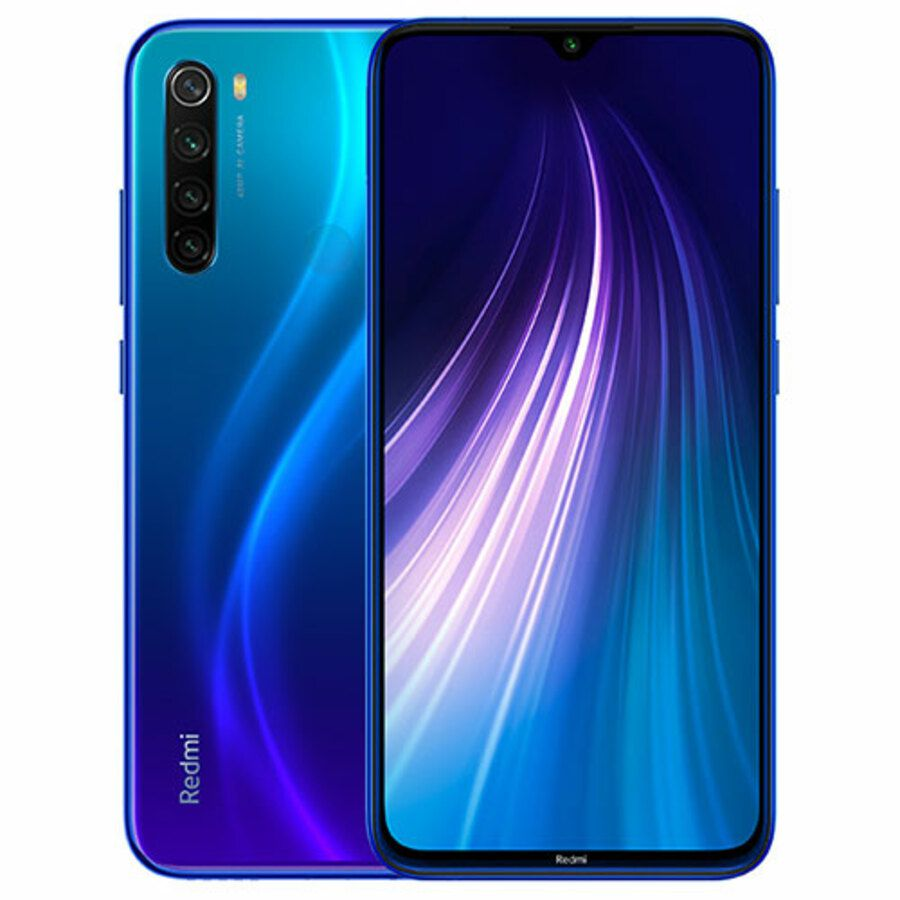 Smartphone Xiaomi Redmi Note 8 4GB Ram Tela 6.3 64GB Camera Quad 48+8+2+2MP - Azul  - PAGDEPOIS