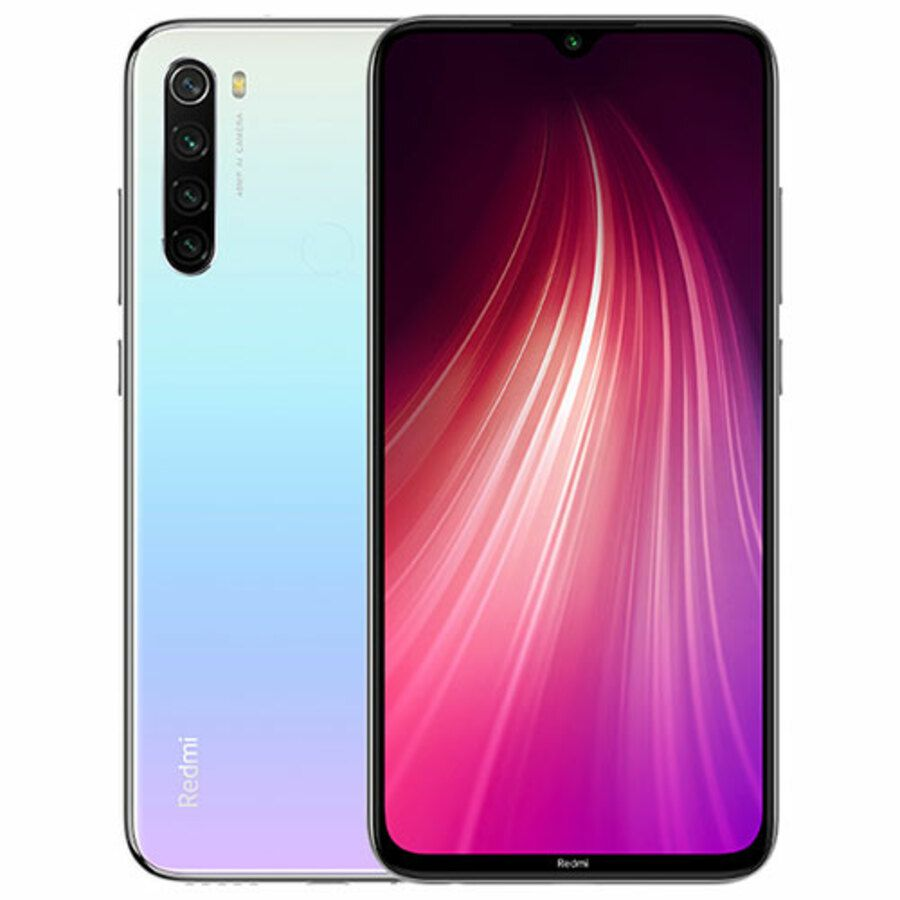 Smartphone Xiaomi Redmi Note 8 4GB Ram Tela 6.3 64GB Camera Quad 48+8+2+2MP - Branco  - PAGDEPOIS