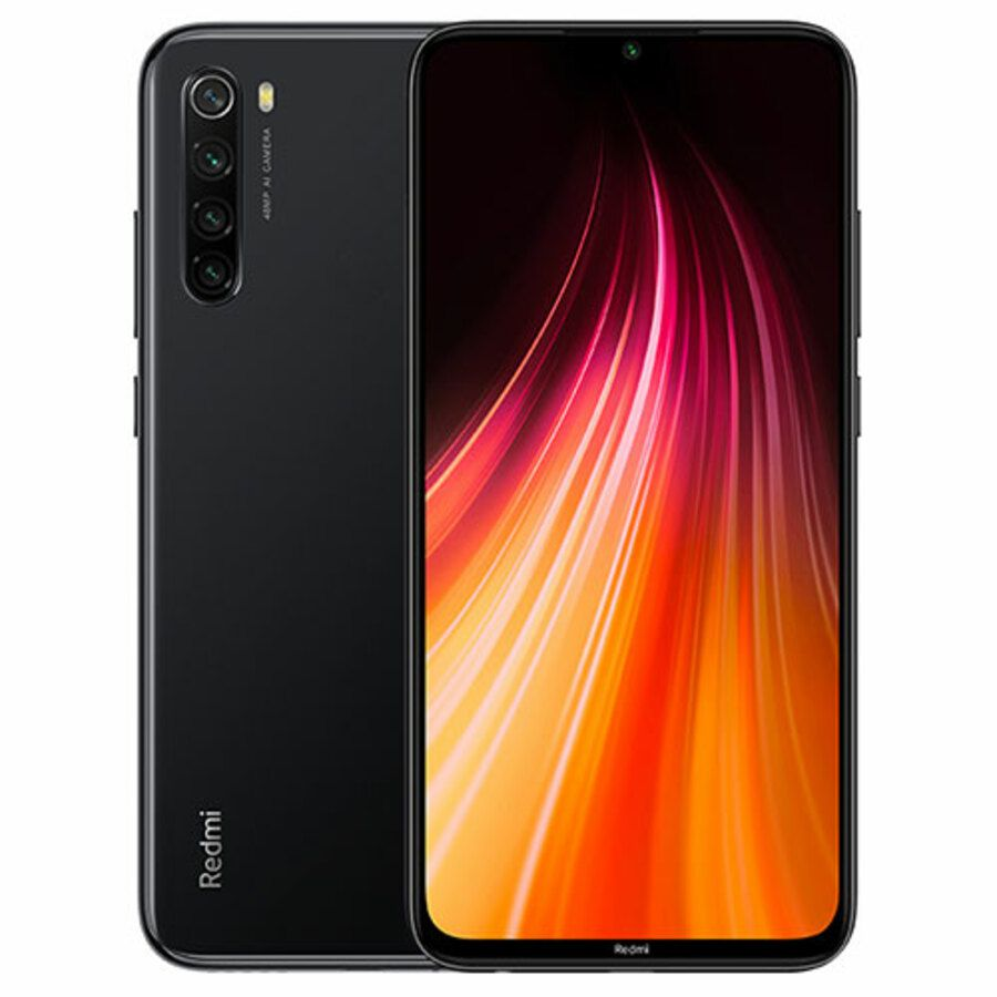 Smartphone Xiaomi Redmi Note 8 4GB Ram Tela 6.3 64GB Camera Quad 48+8+2+2MP - Cinza