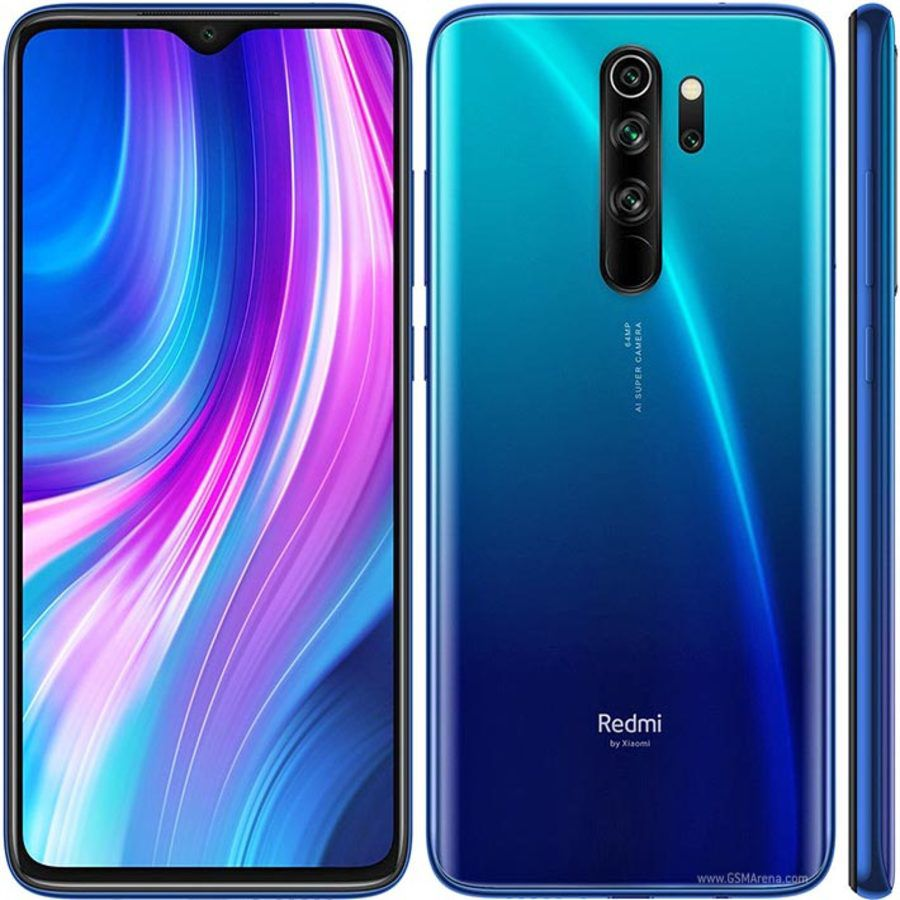Smartphone Xiaomi Redmi Note 8 Pro 6GB Ram Tela 6.53 128GB Camera Quad 64+8+2+2MP - Azul