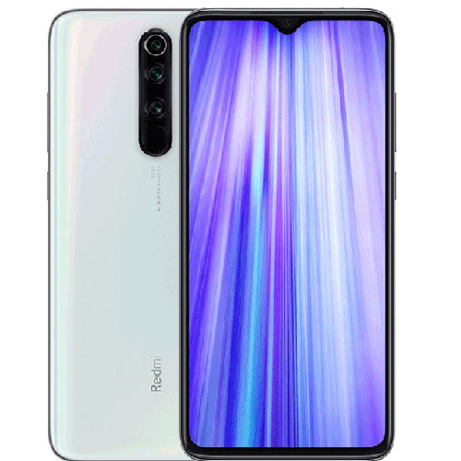 Smartphone Xiaomi Redmi Note 8 Pro 6GB Ram Tela 6.53 128GB Camera Quad 64+8+2+2MP - Branco