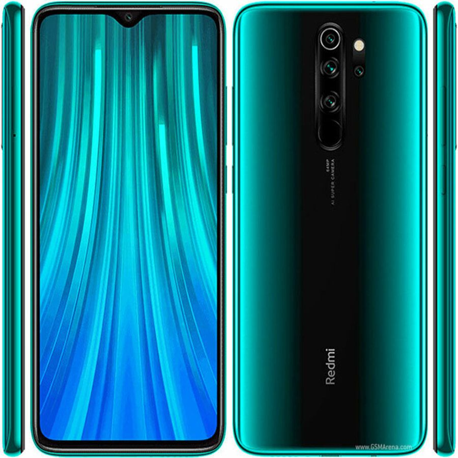 Smartphone Xiaomi Redmi Note 8 Pro 6GB Ram Tela 6.53 128GB Camera Quad 64+8+2+2MP - Verde