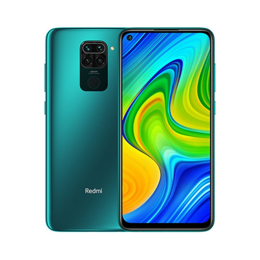 Smartphone Xiaomi Redmi Note 9 3GB Ram Tela 6.53 64GB Camera Quad 48+8+2+2MP - Verde