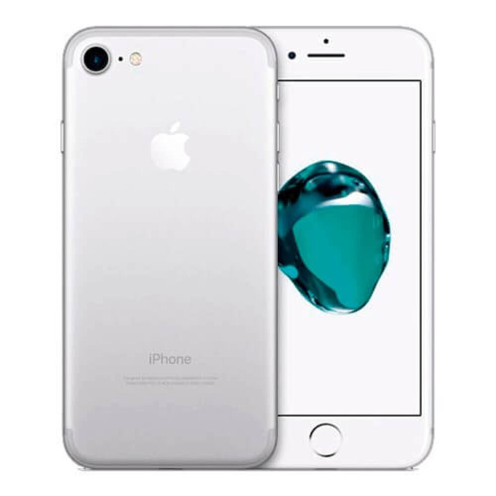 Vitrine: iPhone 7 Apple 128GB Prata Tela 4,7 Câmera Traseira 12MP iOS