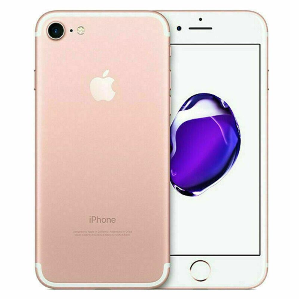 Vitrine: iPhone 7 Apple 128GB Rose Tela 4,7 Câmera Traseira 12MP iOS