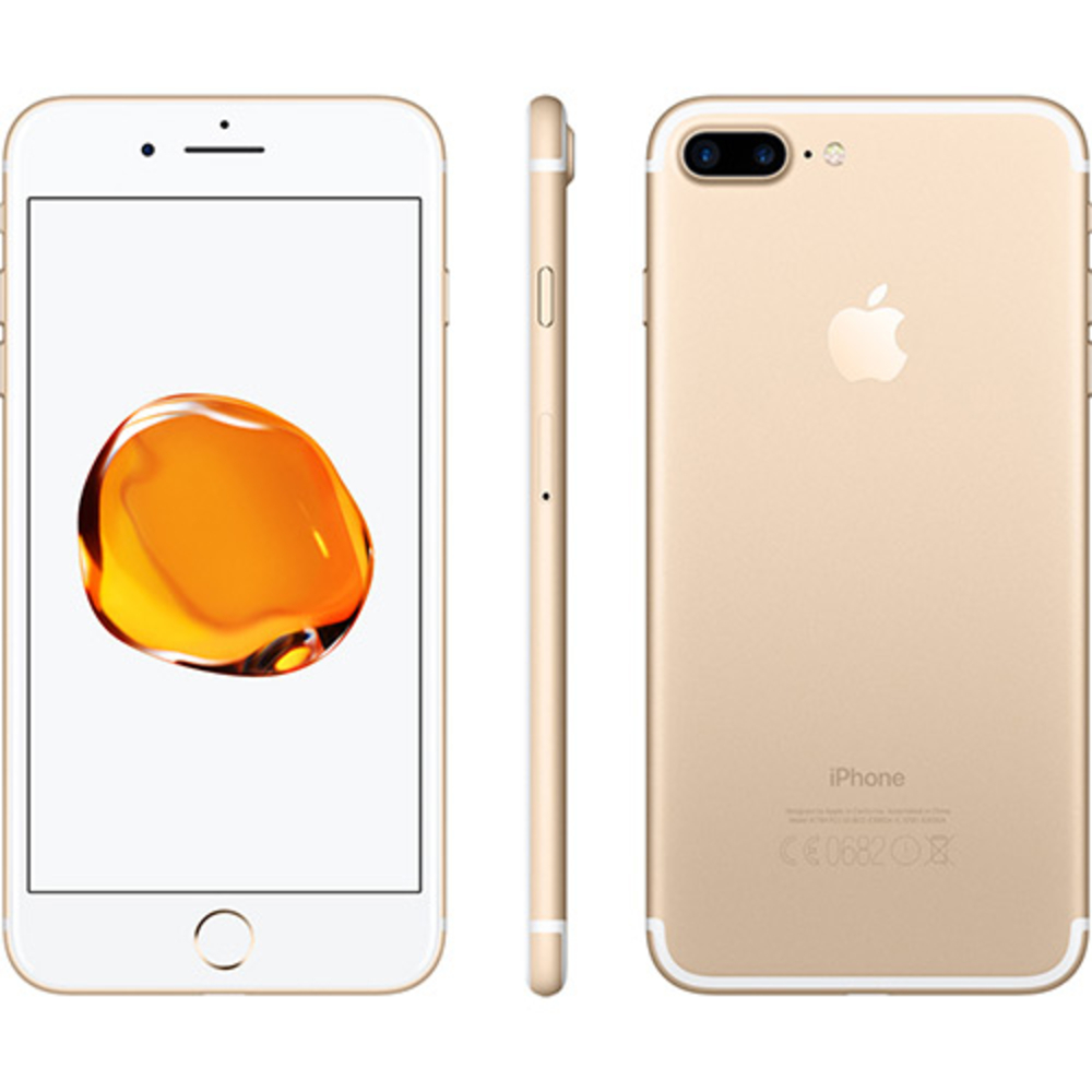 Vitrine: iPhone 7 Plus Apple 128GB Dourado Tela 5,5 Câmera Traseira Dupla 12MP iOS