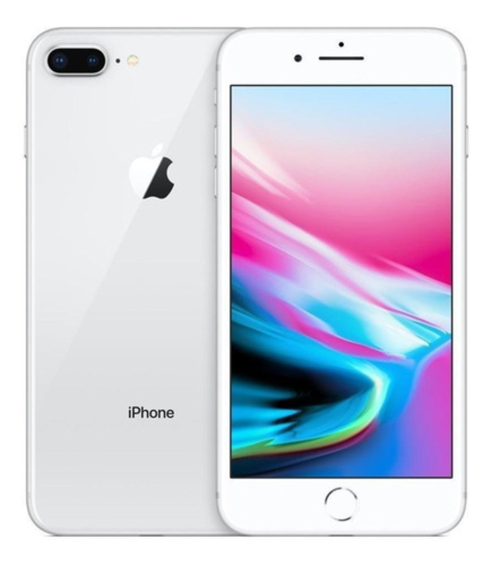 Vitrine: iPhone 8 Plus Apple 64GB Prata Tela 5,5 Câmera Traseira Dupla 12MP iOS