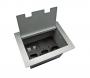Caixa de Tomada DMEX02-M, 3 Tomadas + Espaços