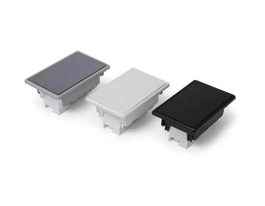 Caixa De Tomada Compacta + Rede Cat5 - QMF3-M4