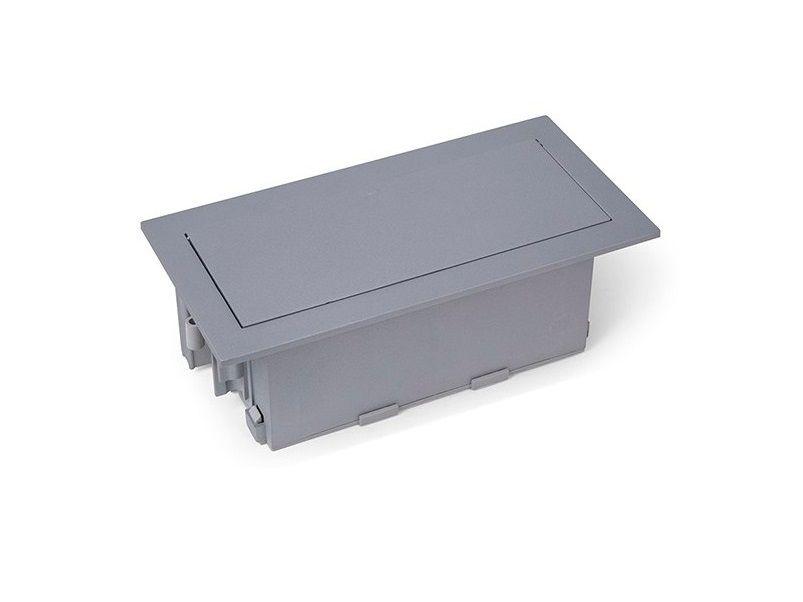 Caixa De Tomada Completa Em ABS Para Embutir Em Mesas