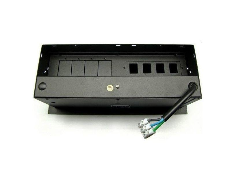 Caixa De Tomada Completa Para Mesas Com Multi Conexões - M5