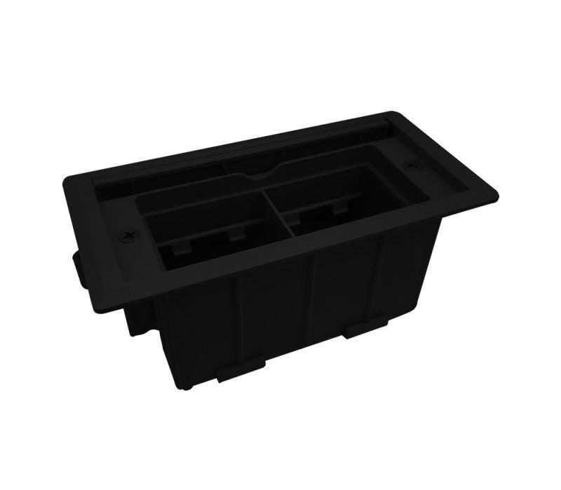 Caixa De Tomada Mini Para Embutir Em Mesa - QMF5-M